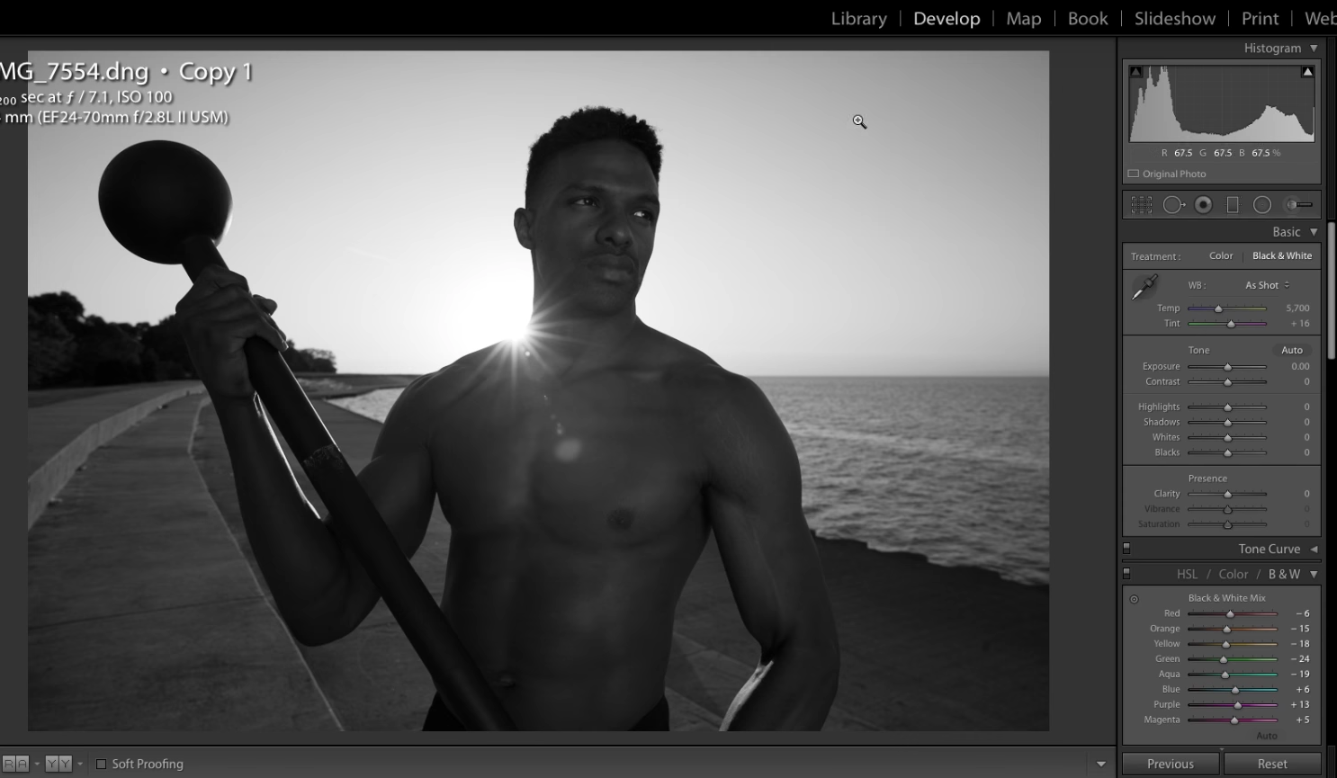 Video tutorial great black and white processing tips for lightroom