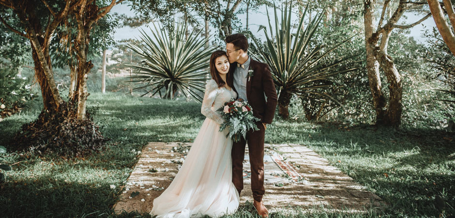 Hipster Wedding Photography: Elopement In Dà Lat, Vietnam, By Andrew & Tin Tin Of