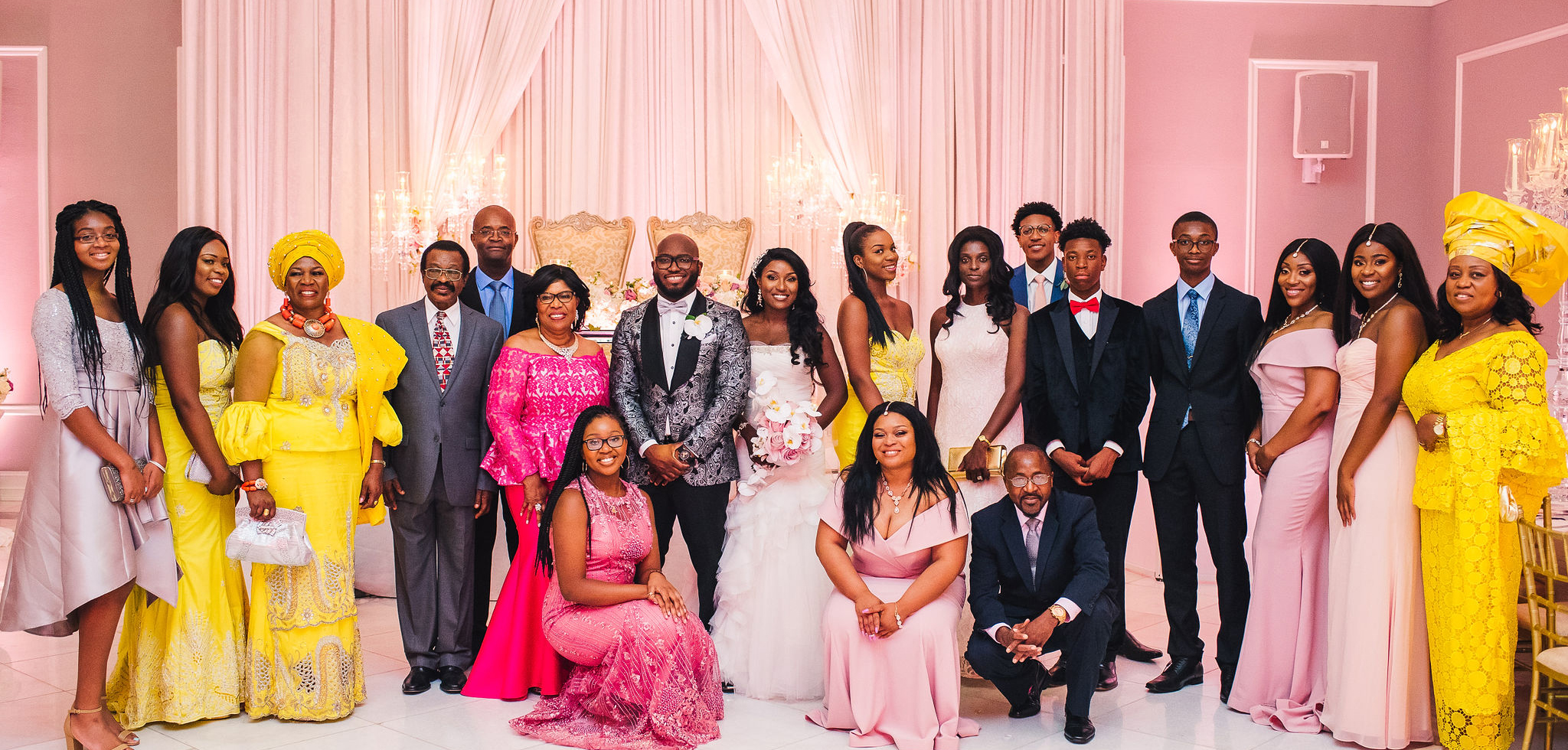 405a2dae12 The Grandeur and Vibrancy of a Nigerian Wedding