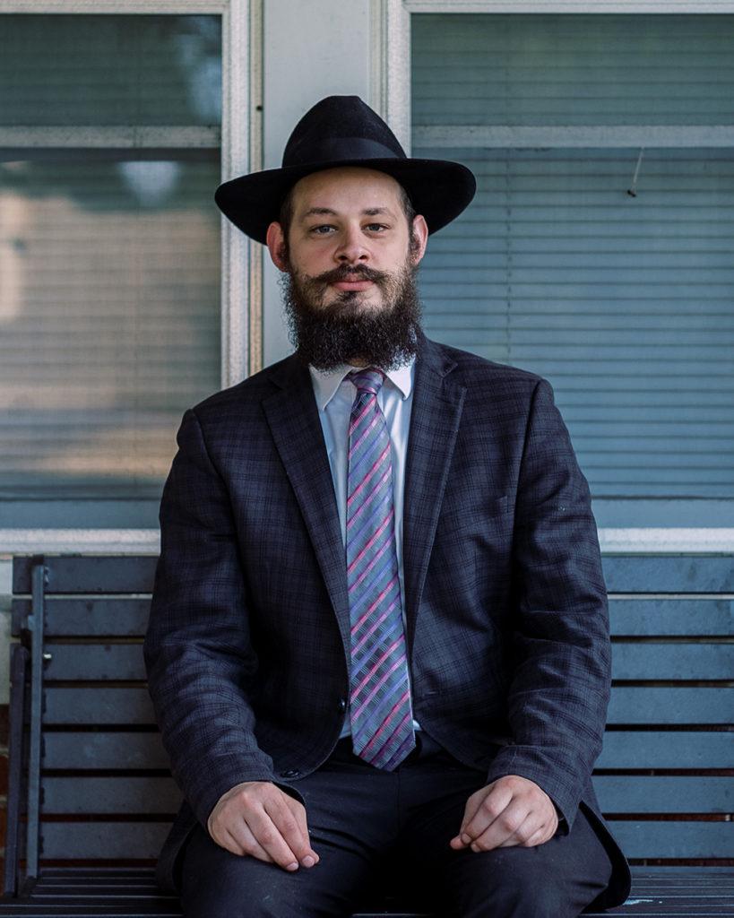 Rabbi Shlomo Litvin, by Max Correa