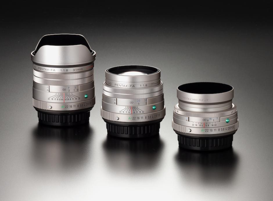 A trio of new HD Ricoh/Pentax lenses.